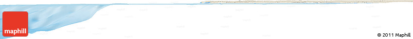 Shaded Relief Horizon Map of Ahiout El Kohia