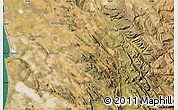 "Satellite Map of the area around 32°17'31""S,18°46'29""E"
