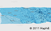 """Political Panoramic Map of the area around 32°17'31""""S,18°46'29""""E"""