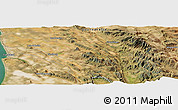 "Satellite Panoramic Map of the area around 32°17'31""S,18°46'29""E"