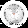 "Outline Map of the Area around 32° 17' 31"" S, 26° 25' 29"" E, rectangular outline"