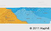 Political Panoramic Map of Cañitas