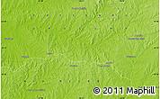 Physical Map of Tres Árboles