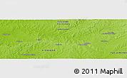 Physical Panoramic Map of Pueblo Cuchilla
