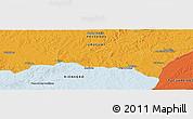 Political Panoramic Map of Arbolito