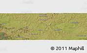 Satellite Panoramic Map of Arbolito