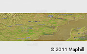 "Satellite Panoramic Map of the area around 32°45'51""S,53°28'30""W"