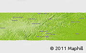 "Physical Panoramic Map of the area around 32° 45' 51"" S, 54° 19' 30"" W"
