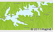 Physical 3D Map of San Gregorio de Polanco