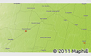Physical 3D Map of General Deheza