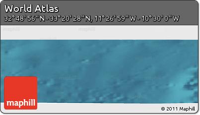 "Satellite Panoramic Map of the Area around 33°4'42""N,10°58'29""W"