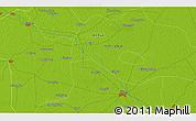 Physical 3D Map of Kangzhai