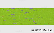 "Physical Panoramic Map of the area around 33° 4' 42"" N, 115° 40' 30"" E"