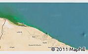 Satellite 3D Map of Zuwārah