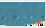 """Satellite 3D Map of the area around 33°4'42""""N,12°49'29""""E"""