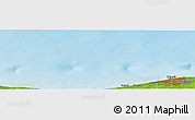 """Physical Panoramic Map of the area around 33°4'42""""N,12°49'29""""E"""