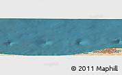 "Satellite Panoramic Map of the area around 33°4'42""N,12°49'29""E"