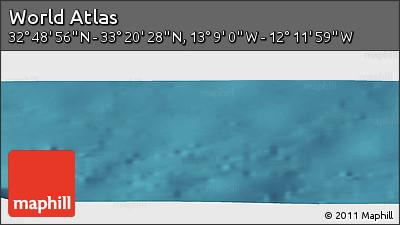 "Satellite Panoramic Map of the Area around 33°4'42""N,12°40'30""W"