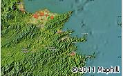 "Satellite Map of the area around 33°4'42""N,131°49'29""E"
