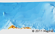"""Political 3D Map of the area around 33°4'42""""N,16°55'29""""W"""