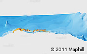 """Political Panoramic Map of the area around 33°4'42""""N,16°55'29""""W"""