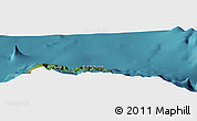 "Satellite Panoramic Map of the area around 33°4'42""N,16°55'29""W"