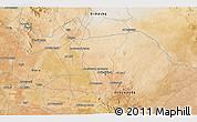 Satellite 3D Map of Izra`