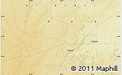 Physical Map of Ar Ruţbah