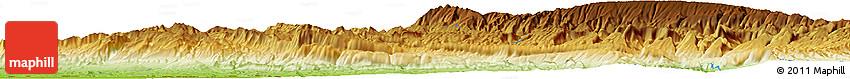 Physical Horizon Map of Varī