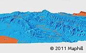 Political Panoramic Map of Malakābād