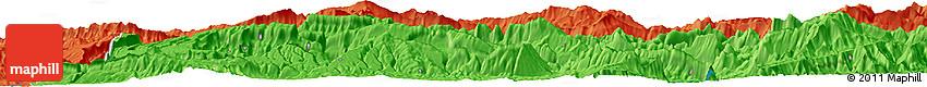 Political Horizon Map of Āb Bīd