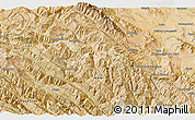 """Satellite 3D Map of the area around 33°4'42""""N,49°22'30""""E"""