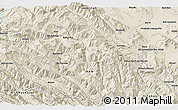 """Shaded Relief 3D Map of the area around 33°4'42""""N,49°22'30""""E"""