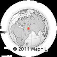 Outline Map of Shāh Morād, rectangular outline