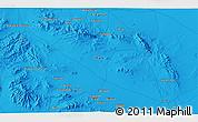 Political 3D Map of Nā'īn