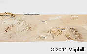 "Satellite Panoramic Map of the area around 33° 4' 42"" N, 55° 19' 30"" E"