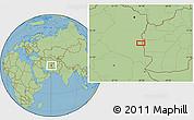 "Savanna Style Location Map of the area around 33°4'42""N,60°25'29""E"