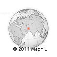 """Outline Map of the Area around 33° 4' 42"""" N, 61° 16' 29"""" E, rectangular outline"""