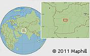 "Savanna Style Location Map of the area around 33°4'42""N,63°49'30""E"