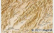 "Satellite Map of the area around 33°4'42""N,66°22'30""E"