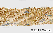 "Satellite Panoramic Map of the area around 33° 4' 42"" N, 66° 22' 30"" E"