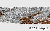 Physical Panoramic Map of Āb Rowshan