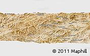 Satellite Panoramic Map of Āb Rowshan