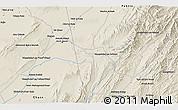 Shaded Relief 3D Map of `Abdollāh Khān Kalay