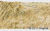 Satellite 3D Map of Akbar Khān Kalay