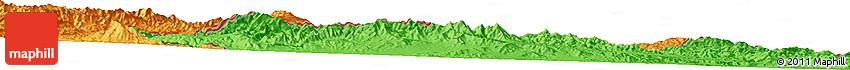 Political Horizon Map of Akbar Khān Kalay