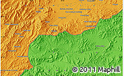 Political Map of Akbar Khān Kalay