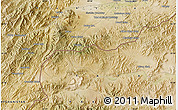 Satellite Map of Akbar Khān Kalay