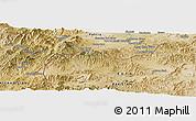 Satellite Panoramic Map of Akbar Khān Kalay