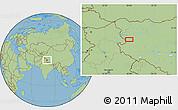 Savanna Style Location Map of Risum